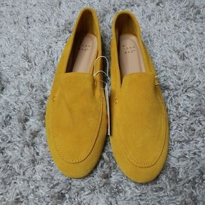 A NEW DAY Mila genuine suede loafers